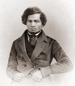 Frederick Douglass, (in My Bondage and My Freedom: Part I- Life as a Slave, Part II- Life as a Freeman, with an introduction by James M'Cune Smith. New York and Auburn: Miller, Orton & Mulligan (1855).Engraved by J.C. Buttre from a daguerretotype.