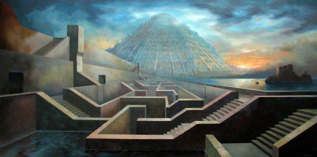 Labyrinthe et Babel par Marcel Thériault