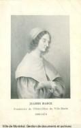 Gravure de Jeanne Mance
