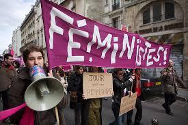 manif féministe