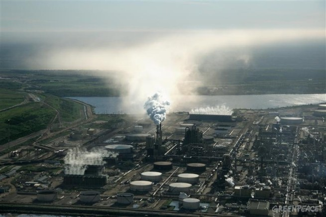 Air Pollution from the Alberta Tar Sands