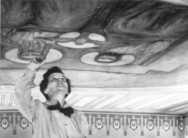 Gabrielle Messier_Travaux à Shawinigan-Sud pour O. Leduc, a.d. 1945