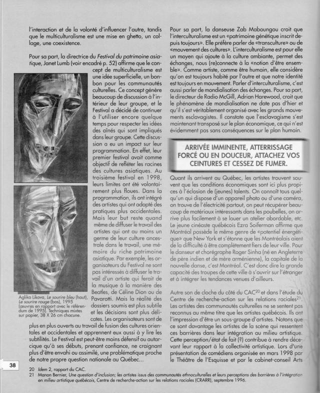Ève Langevin_Esse Art_1999