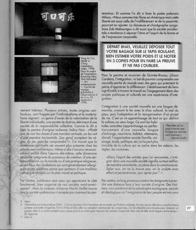 Ève Langevin_Esse Art_1999_p.3
