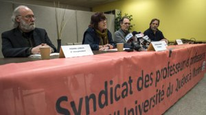 uqam saccage syndicat