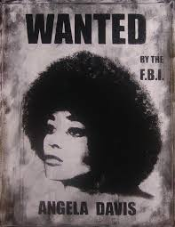 Cercle afroaméricain. Angela Davis wanted_Black Panthers