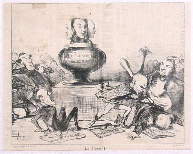 Daumier-La déroute_1850