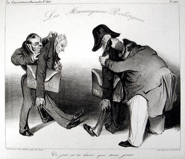 Daumier_Les mannequins Politiques-700x602