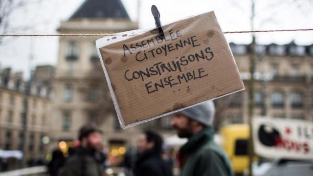 Nuit debout_Assemblée citoyenne 31-03-16 _crédit Revelli-Beaumont-SIPA