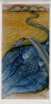 José Tommi. illustration de «Poésie km» d'Ève Langevin. 2000.