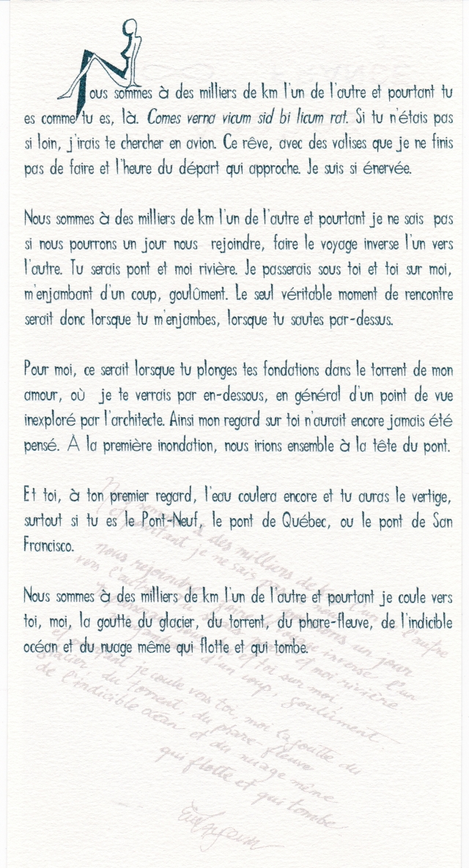 Tiré de «Omphalos». Bonaventure: 2000. éd. Inéditions