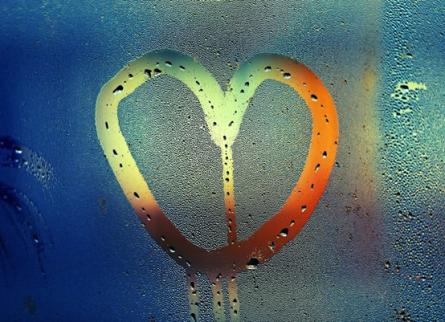 coeur arc-en-ciel